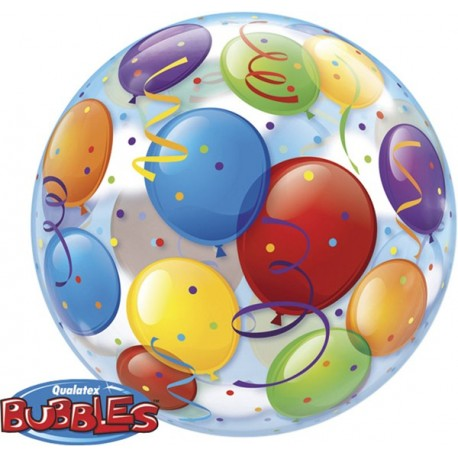 22In Bubble Balloons Around
