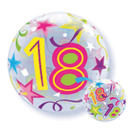 Folieballon bubbles 18