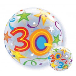 Folieballon bubbles 30