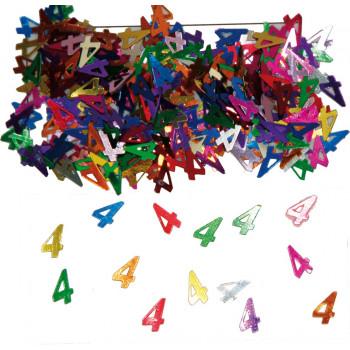 Tafeldecoratie/sier-confetti 4