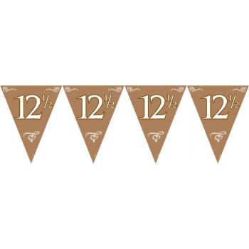 Vlaggenlijn 12,5 Brons