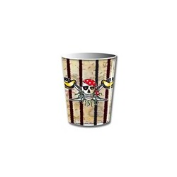 Beker Red Pirate 266ml. 8st