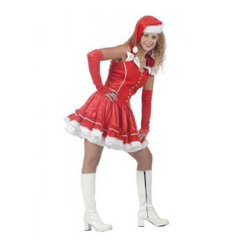 Kledingverhuur kerstvrouw