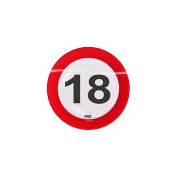 Bord verkeersbord 18