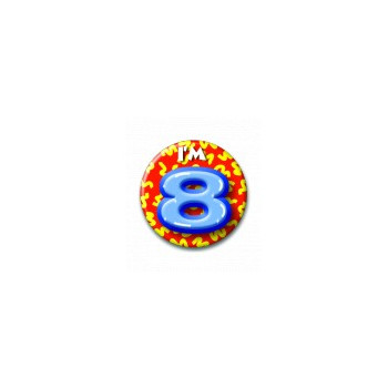Button 8 jaar