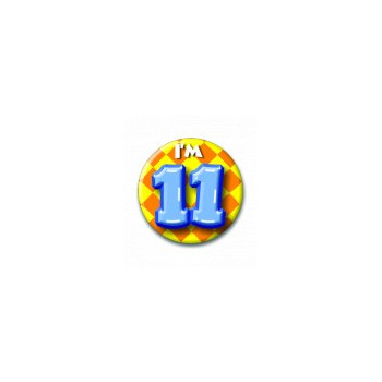 Button 11 jaar
