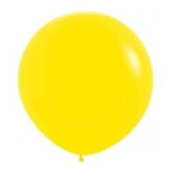 Grote ballon geel 36 inch