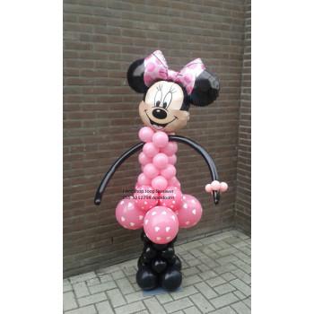 Minnie Mouse van ballonnen