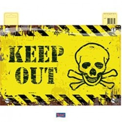 Deurbord keep out