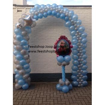 Ballonnenpilaar Frozen