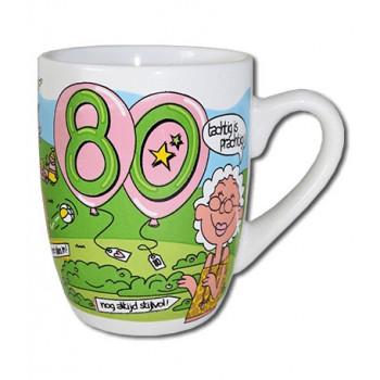 Mok met leeftijd 80