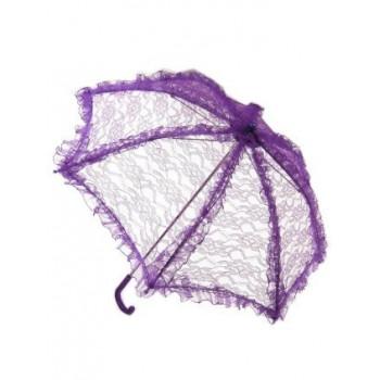 Bydemeyer paraplu paars kant