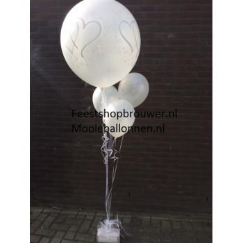 Helium ballonnen trouwen