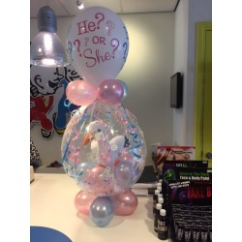 Cadeau ballon geboorte