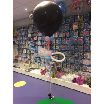 Geslachts ballon met speen