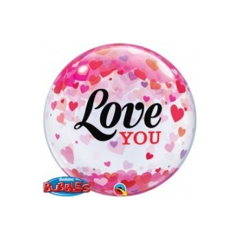 Bubbles ballon love