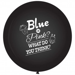 Ballon blue or pink