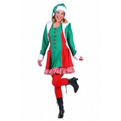 Elf dame , Santa's helper