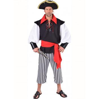 Piraat zwart / wit