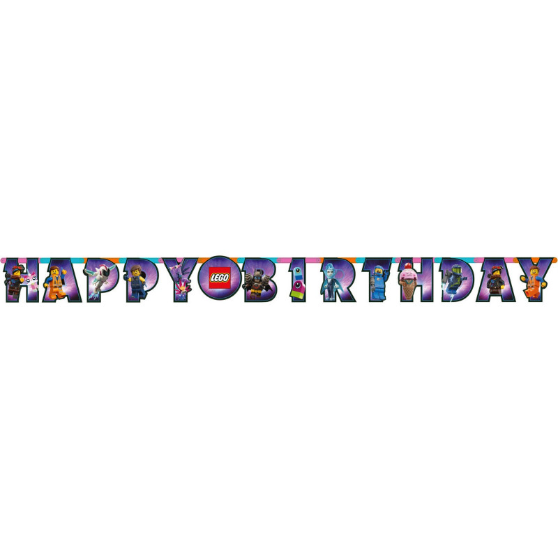 Lego letterslinger happy birthday