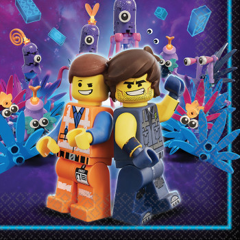 Servetten Lego movie 2