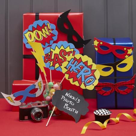 Photo booth props superhelden