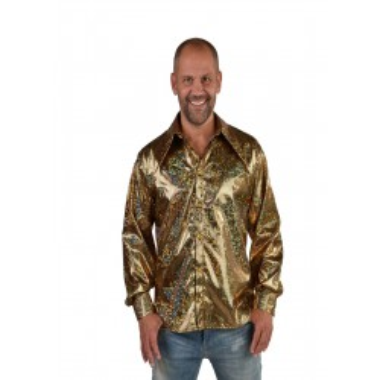 Hemd hologram goud