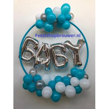 Ballonnen decoratie baby