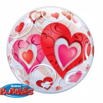 Bubbles ballon hart