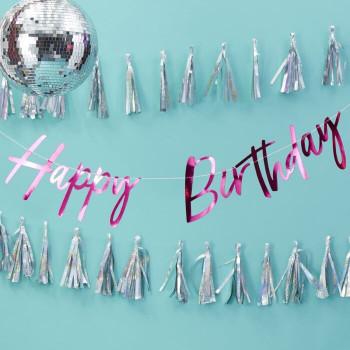 Happy birthday slinger fuchsia