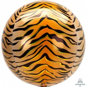 Folieballon orbz tijger