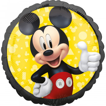 Folieballon Mickey Mouse rond