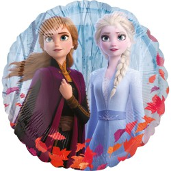 Folieballon Frozen rond