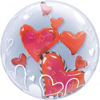 Bubbles folieballon harten