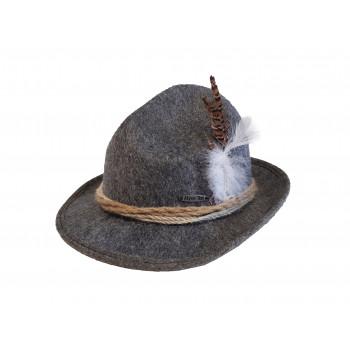 Tiroler hoed grijs Alpen