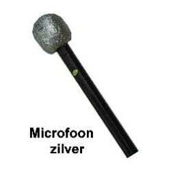 Microfoon zilver
